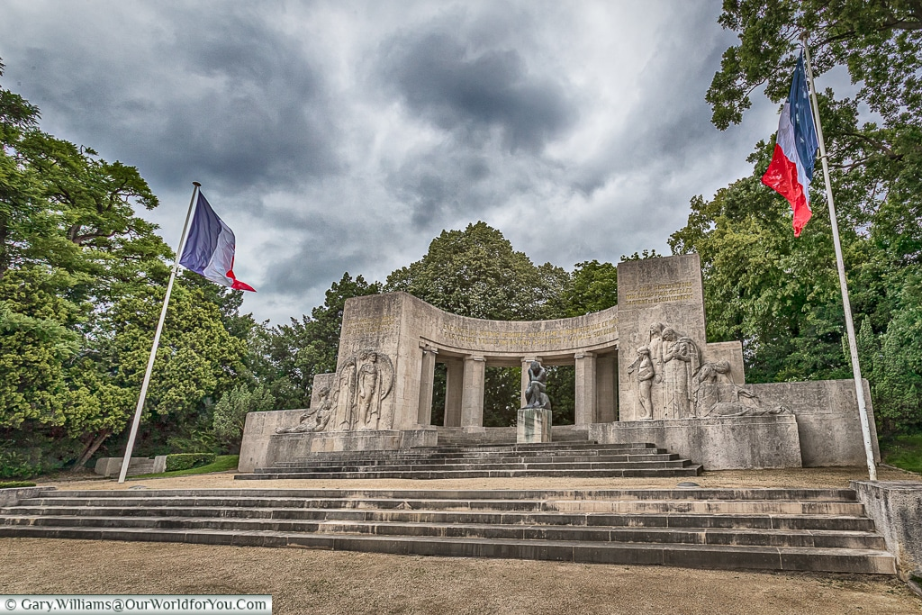 The War Memorial, Reims, Champagne Region, France