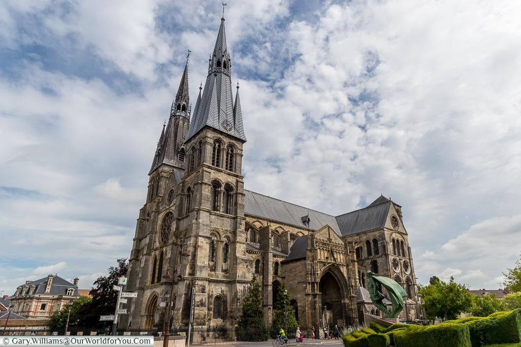 The beautiful Notre-Dame-en-Vaux, Châlons-en-Champagne, France