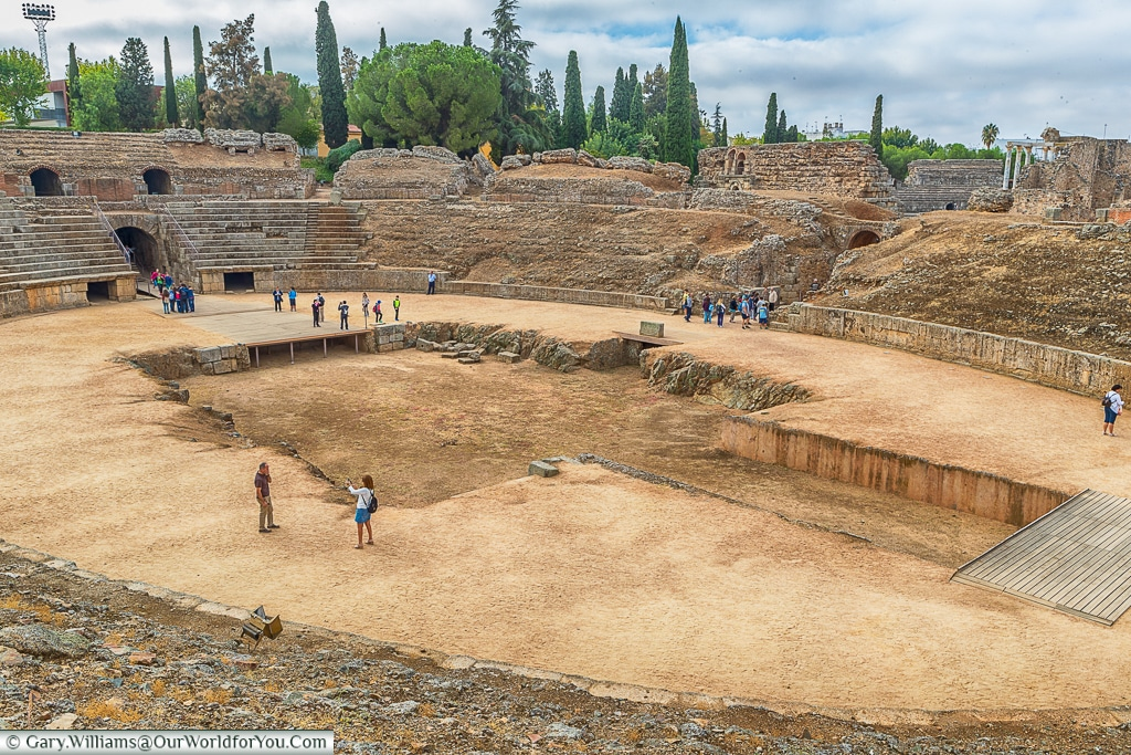 The gladiator's arena, Mérida, Spain