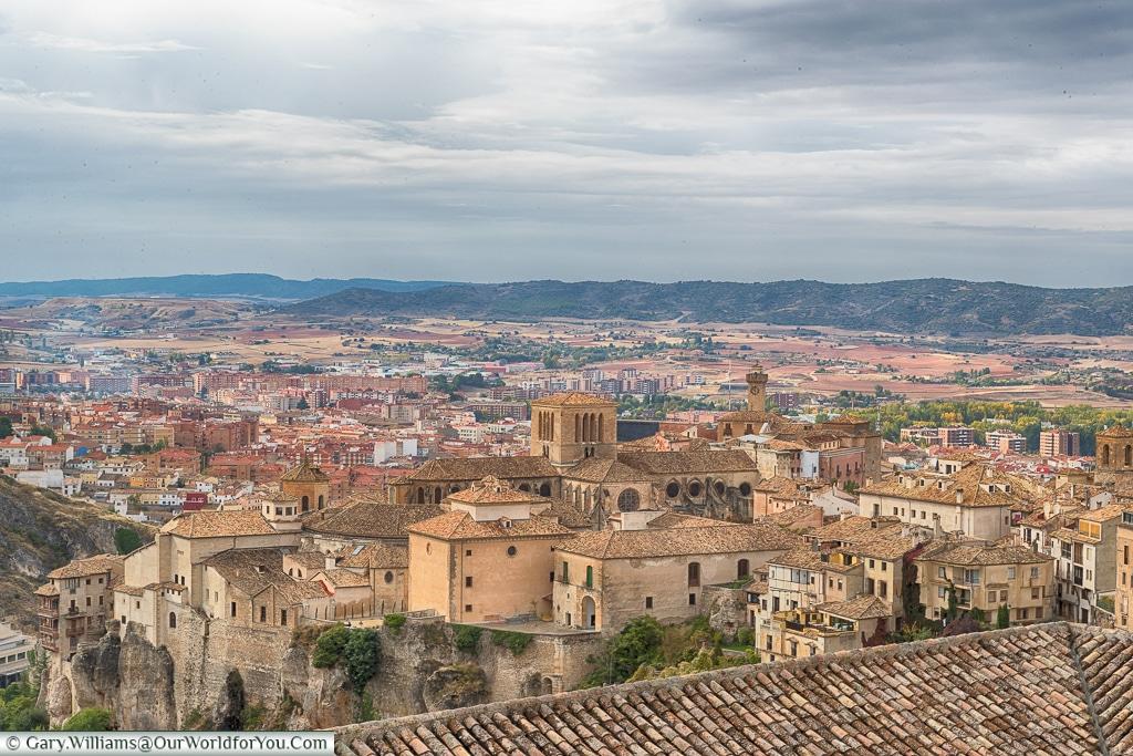 Across the rooftops, Cuenca, Spain