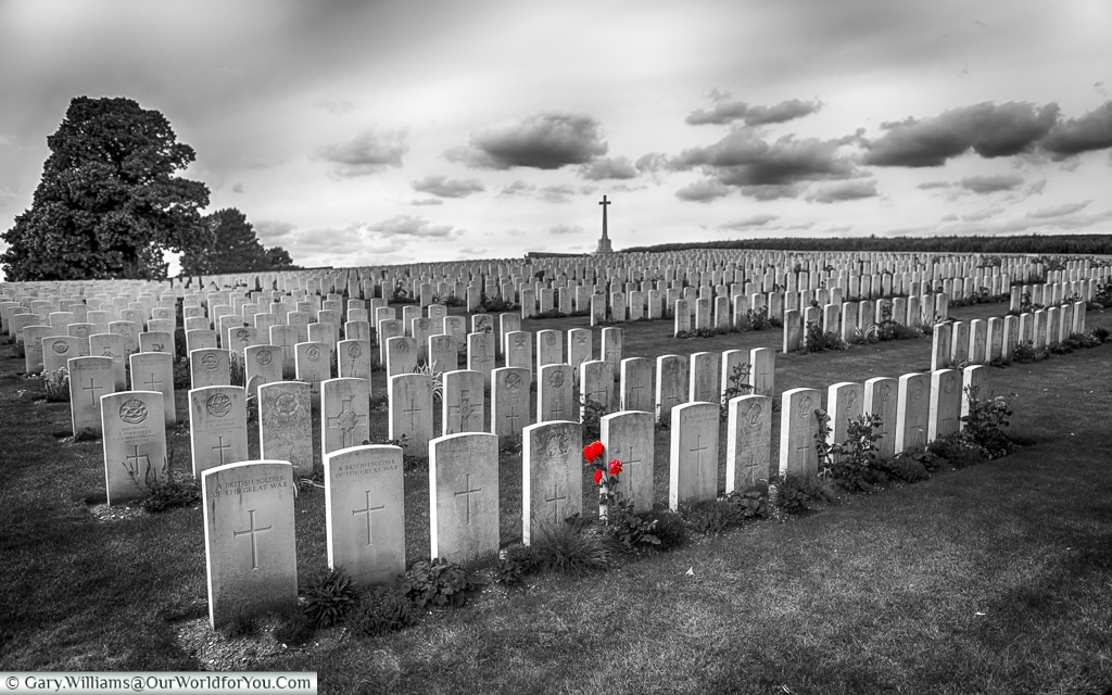 The Marfaux British Cemetery, Champagne Region, France