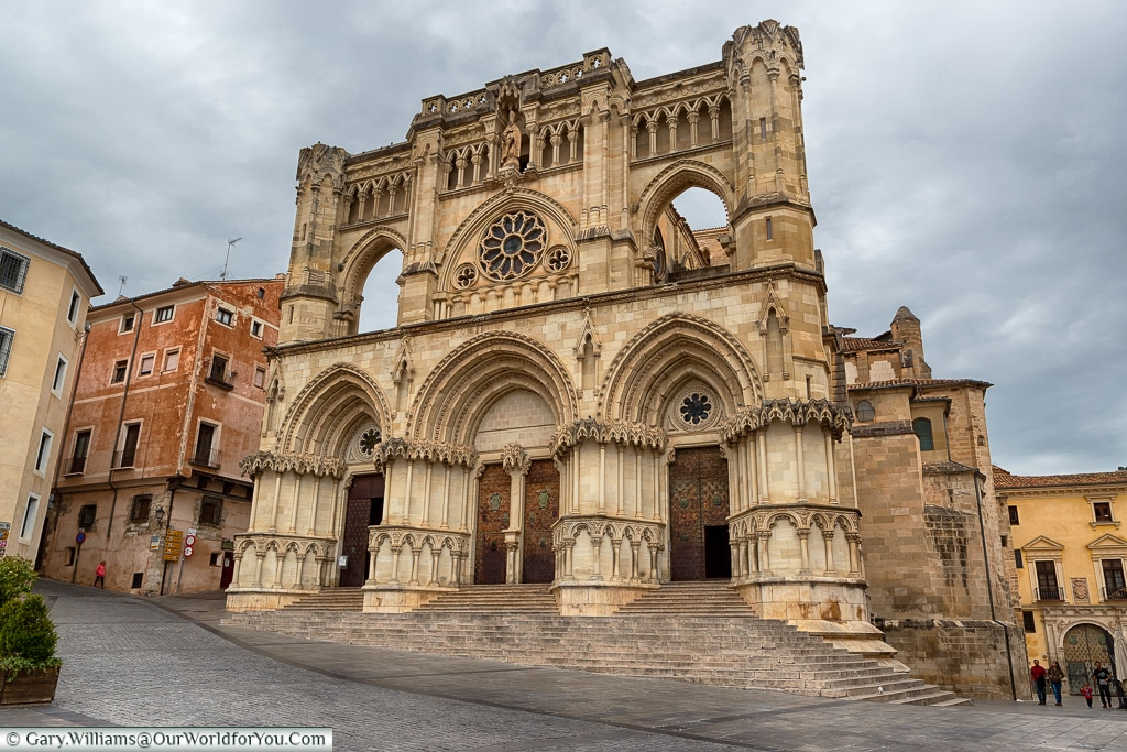 The Cathedral of Our Lady of Grace, Cuenca, Spain