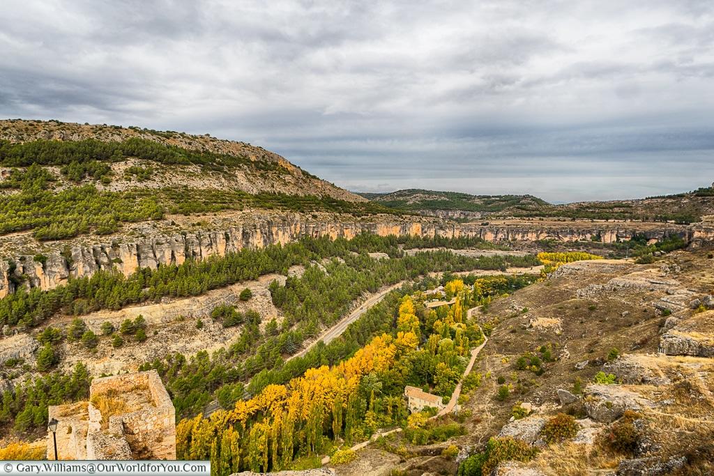 The Júcar gorge, Cuenca, Spain