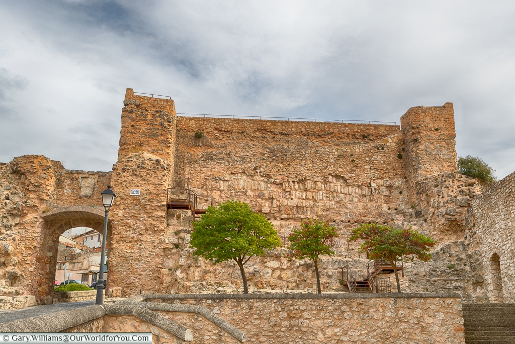 The remains of the Moors, Cuenca, Spain