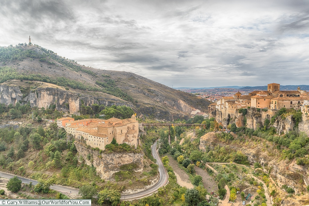 The view of the Huécar gorge, Cuenca, Spain