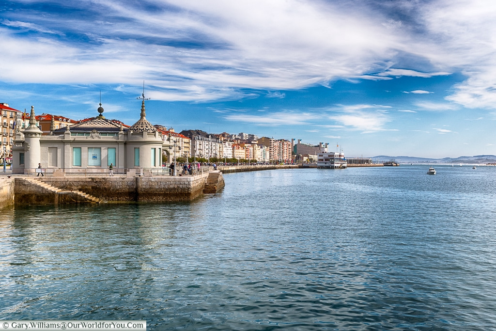 Harbour view, Santander, Spain