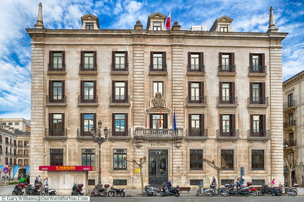 Imposing architecture, Santander, Spain