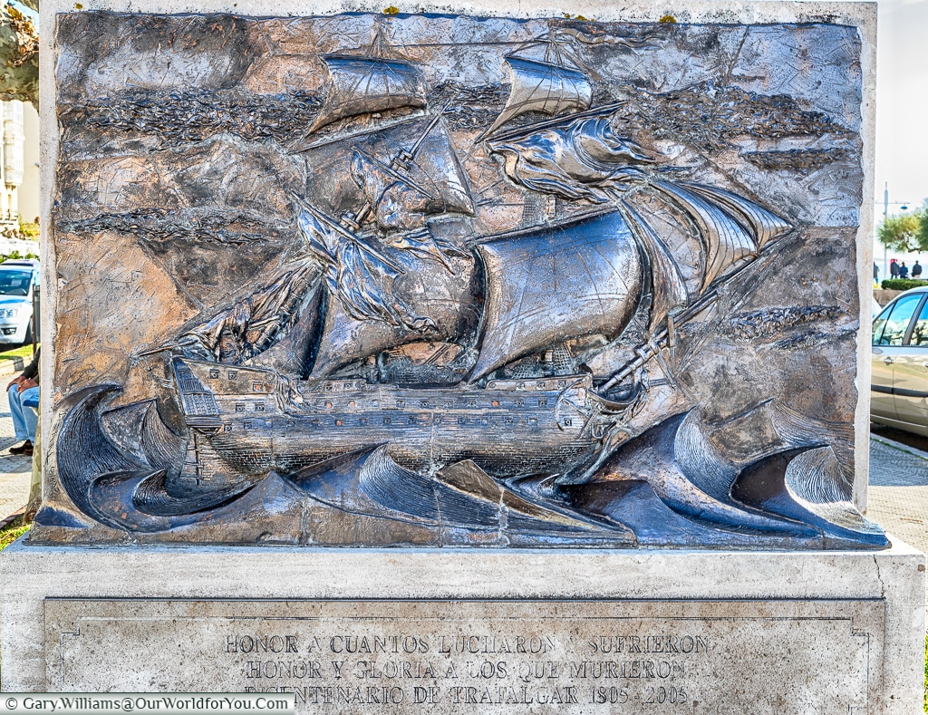 Monument to the Battle of Trafalgar, Santander, Spain