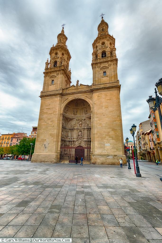 The Church-Cathedral of Santa María de la Redonda, Logroño, Spain