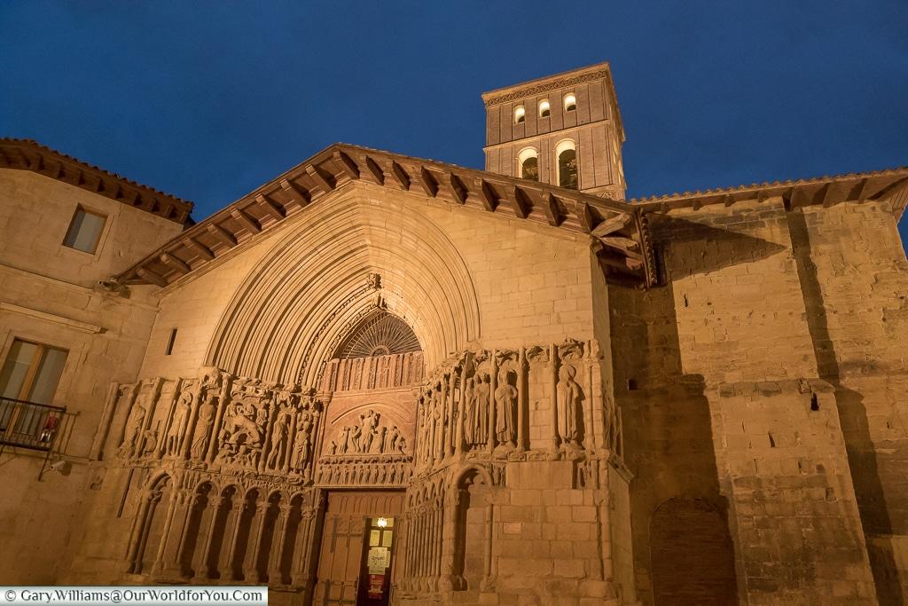 The Church of San Bartholomé, Logroño, Spain