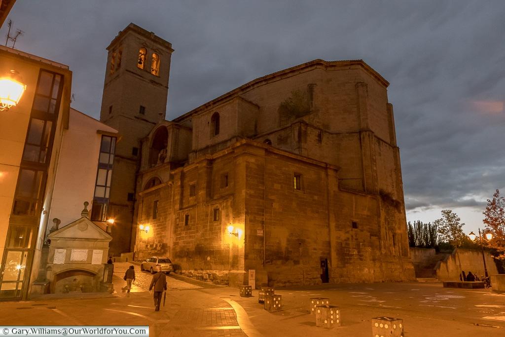 The Church of Santiago El Real, Logroño, Spain